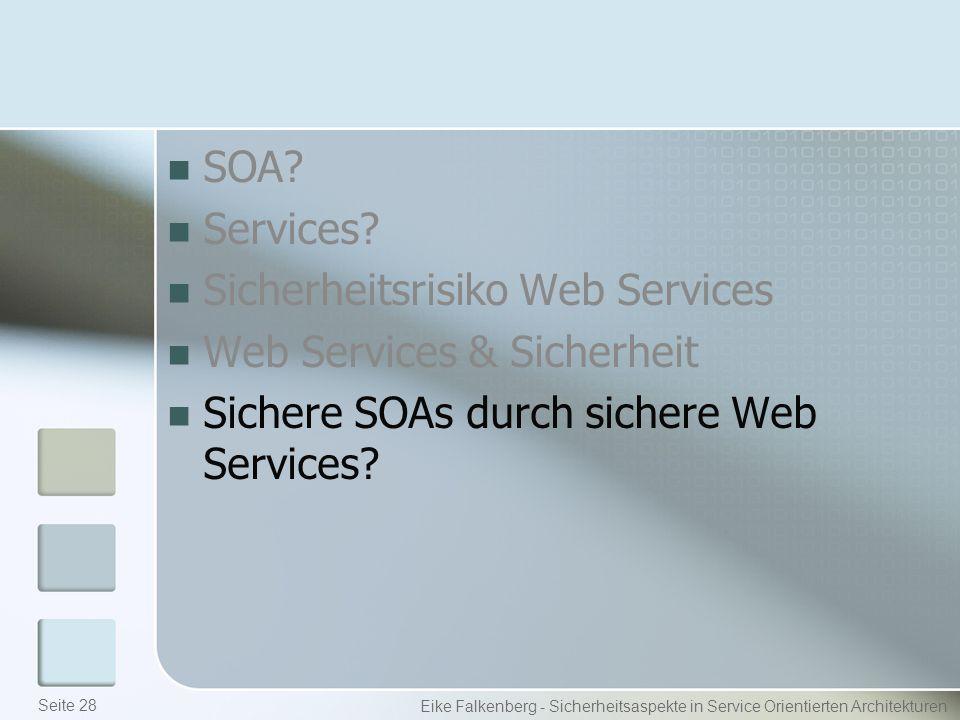 SOA. Services.
