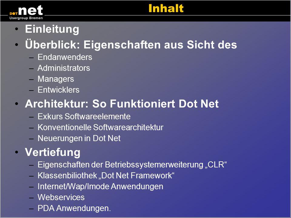 """Was ist Microsoft-s """"Dot Net""""? Bremen, 11.11.2003 Klaus.Evers@hec.de www.dotnet-hb.de www.hec.de"""