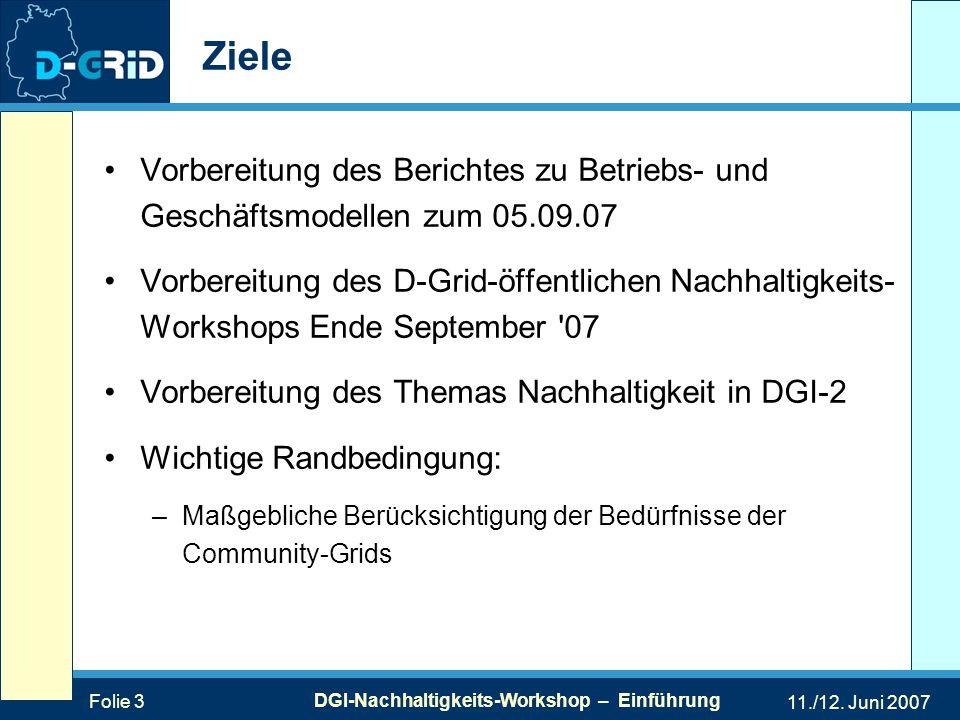 Folie 3 DGI-Nachhaltigkeits-Workshop – Einführung 11./12.