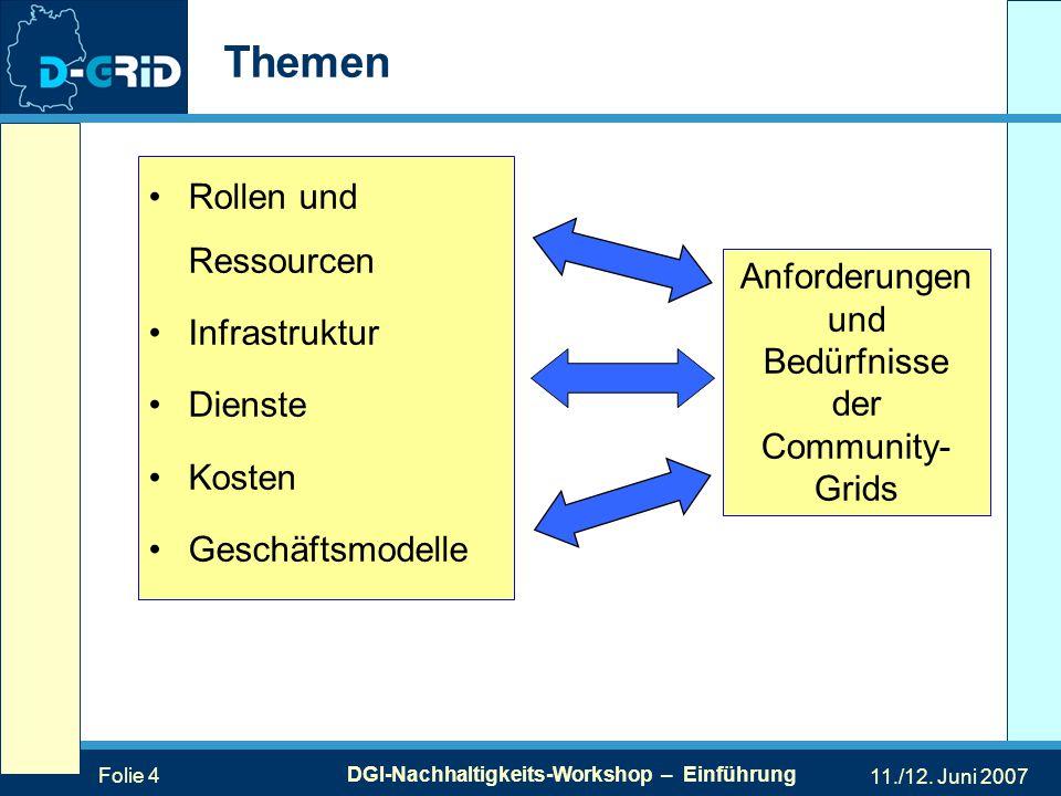 Folie 4 DGI-Nachhaltigkeits-Workshop – Einführung 11./12.