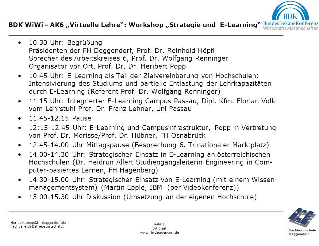 Heribert.popp@fh-deggendorf.de Fachbereich Betriebswirtschaft..