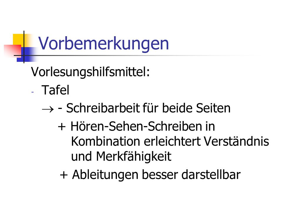 Suchverfahren unter Verwendung eines charakteristischen Vektors Beispiel: U = {rot, blau, grün, gelb, schwarz}, S = (blau, gelb) type Farbe =...; S: array [Farbe] of Boolean => S[blau] = true = S[gelb], S[rot] = S[grün] = S[schwarz] = false rot blau grün gelb schwarz false true false true false