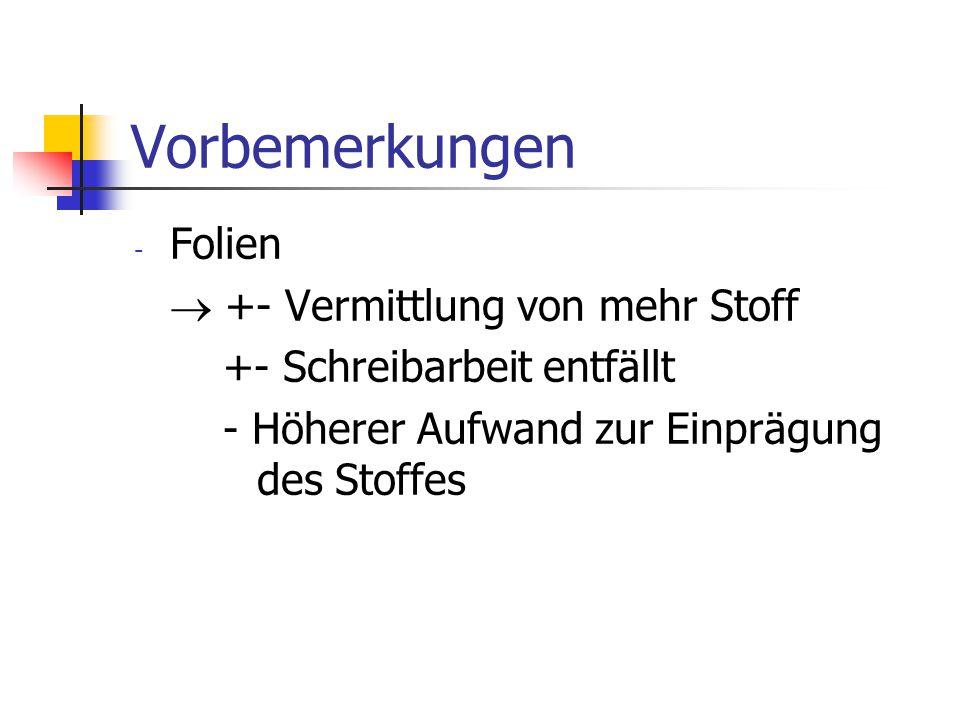 Literatur Bauer, F.L., Goos, G.: Informatik - eine einführende Übersicht Heidelberger Taschenbücher, Sammlung Informatik, Springer-Verlag, Teile 1+2, 3.