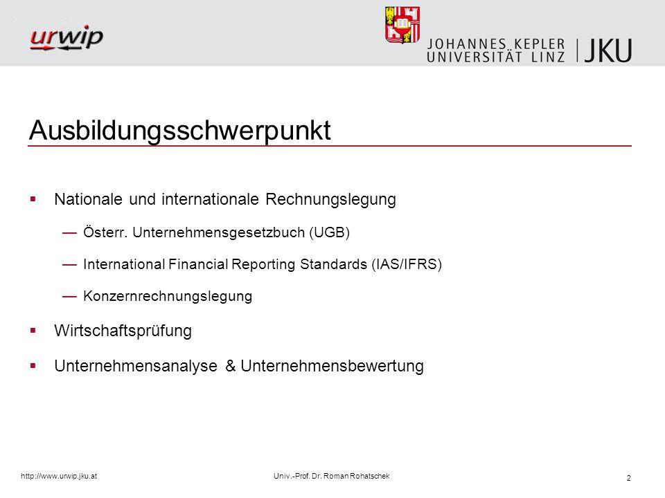 3 http://www.urwip.jku.atUniv.-Prof.Dr.