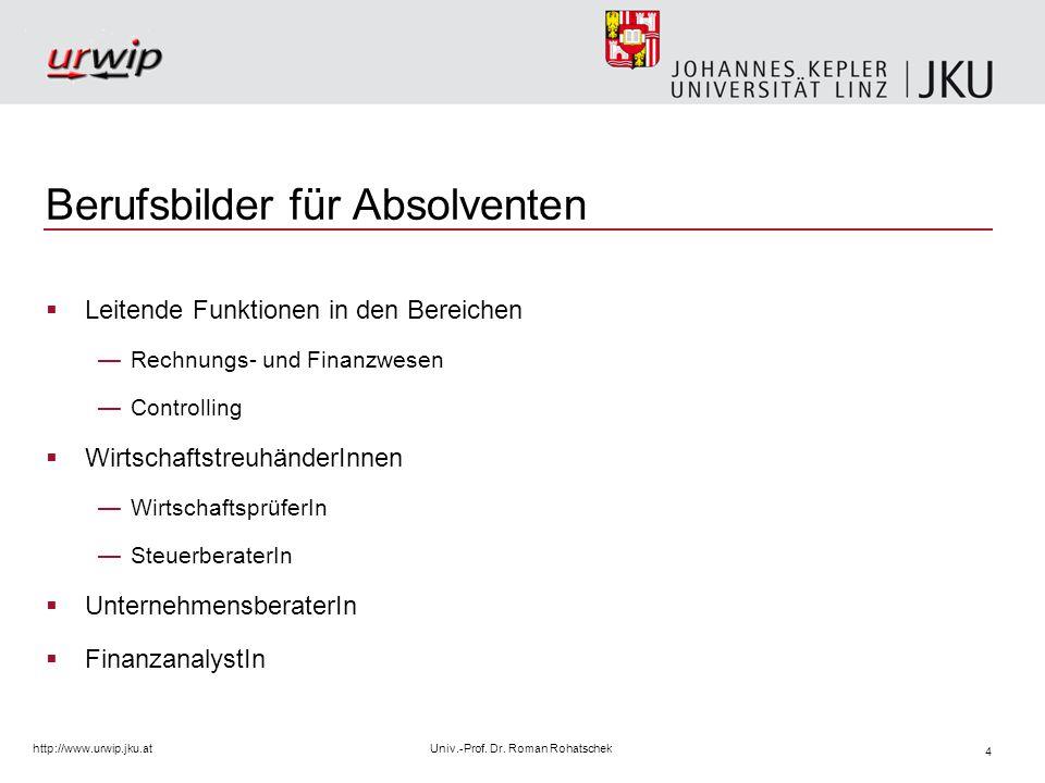 5 http://www.urwip.jku.atUniv.-Prof.Dr.