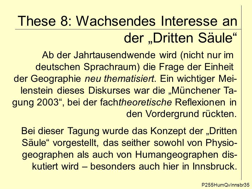 """These 8: Wachsendes Interesse an der """"Dritten Säule"""" P255HumQvInnsbr35 Ab der Jahrtausendwende wird (nicht nur im deutschen Sprachraum) die Frage der"""