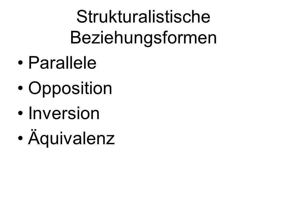 Parallele Opposition Inversion Äquivalenz