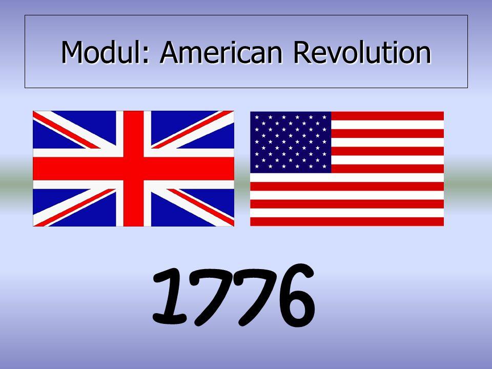 Modul: American Revolution 1776