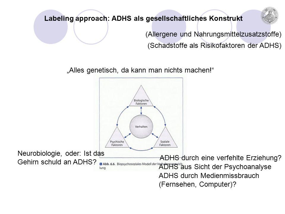 ADHS durch eine verfehlte Erziehung.