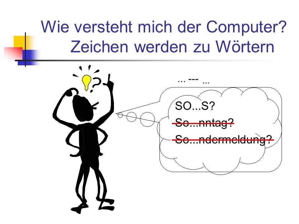Formeln interpretieren Wörter (Symbole) erkennen 5, *, sin, (, 30, ) Sätze (Syntax) erkennen Bedeutung (Semantik) ermitteln Berechnen =2.5, Umformen, Speichern,...