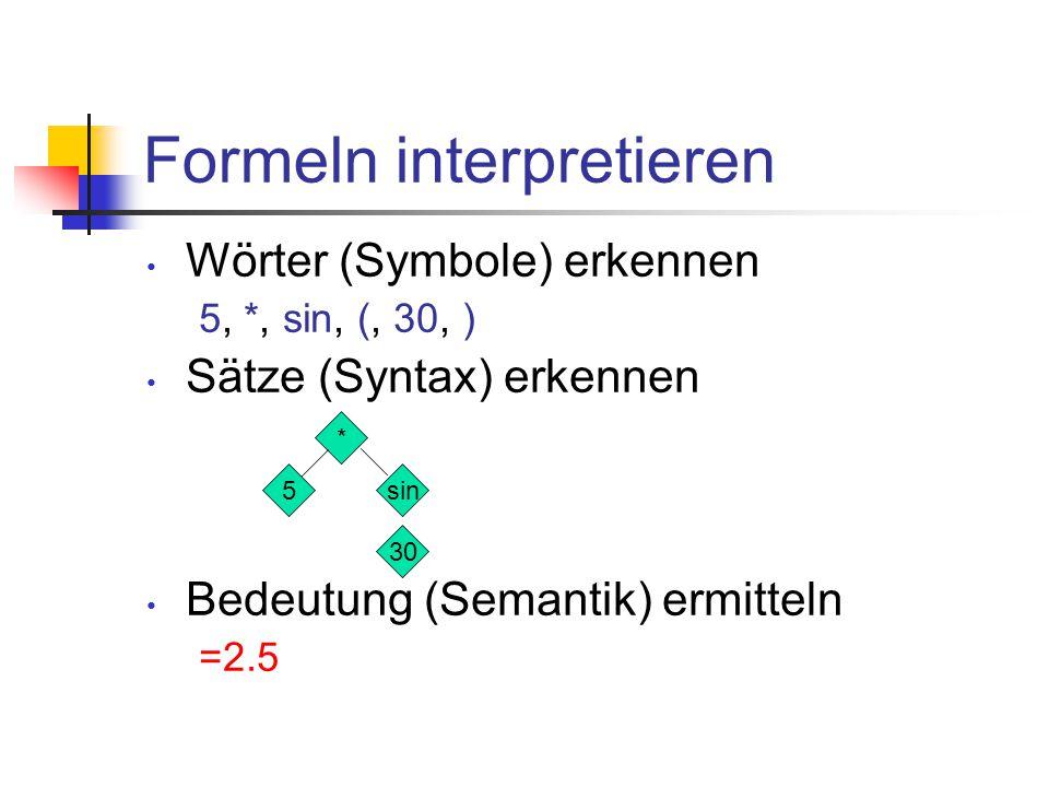 """Was bedeutet """"interpretieren . Wörter (Symbole) erkennen Z.B."""