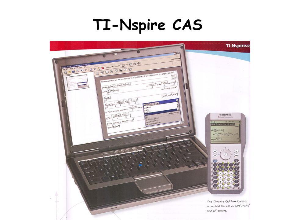 TI-Nspire CAS