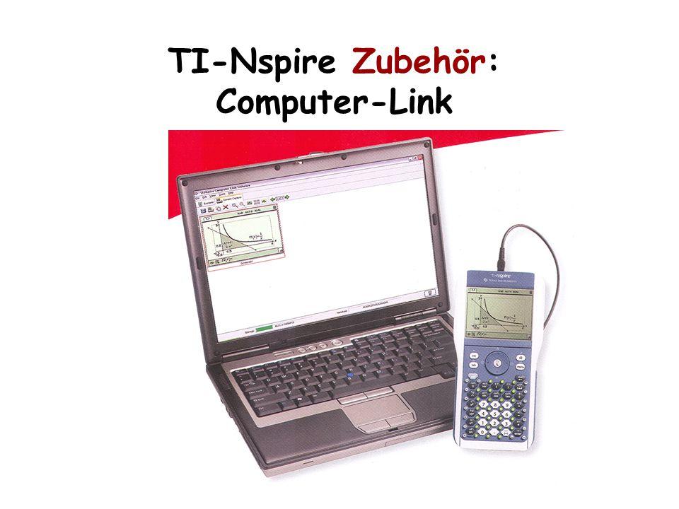 TI-Nspire Zubehör: Computer-Link