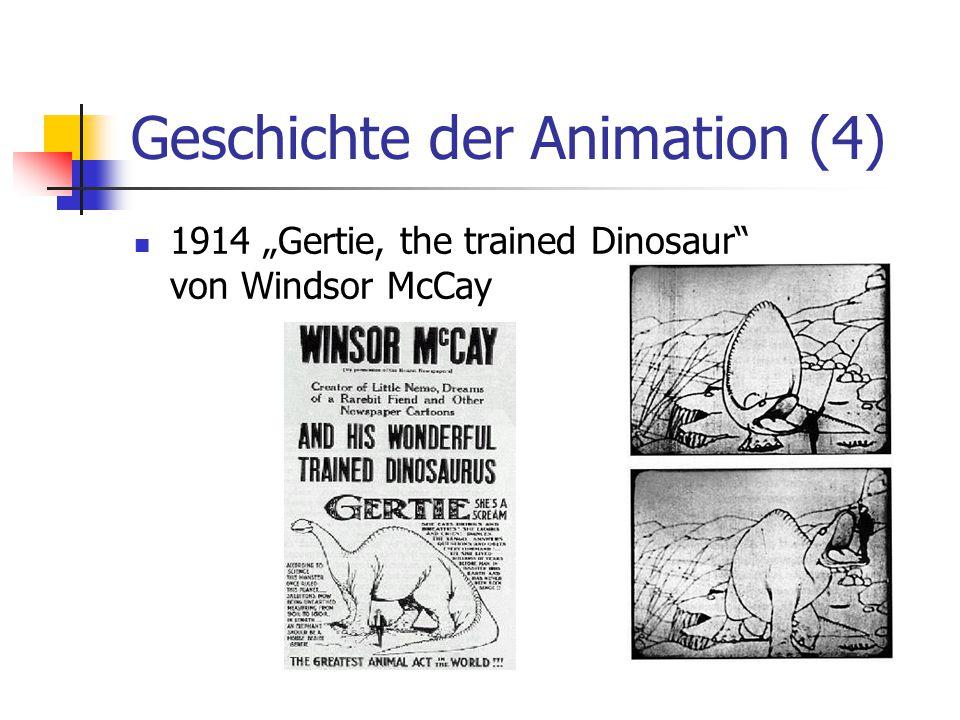 """Geschichte der Animation (5) 1915 Earl Hurd entwickelt die """"Cel- Animation 1922 Gründung der Disney Studios 1928 Disney's """"Steamboat Willie 1932 Willis O'Brien produziert """"King Kong ; großer Durchbruch der Stop- Motion-Technik"""