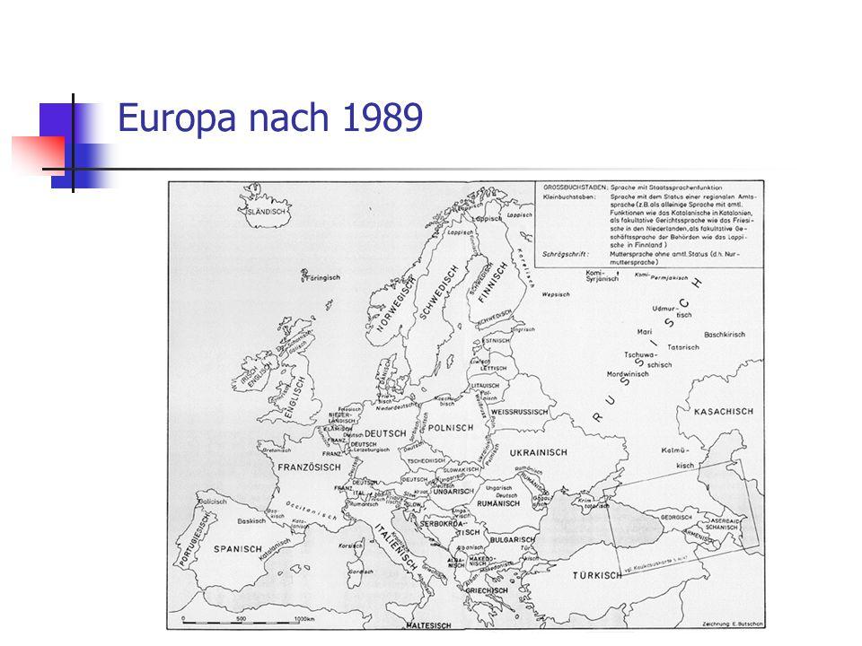 Europa nach 1989