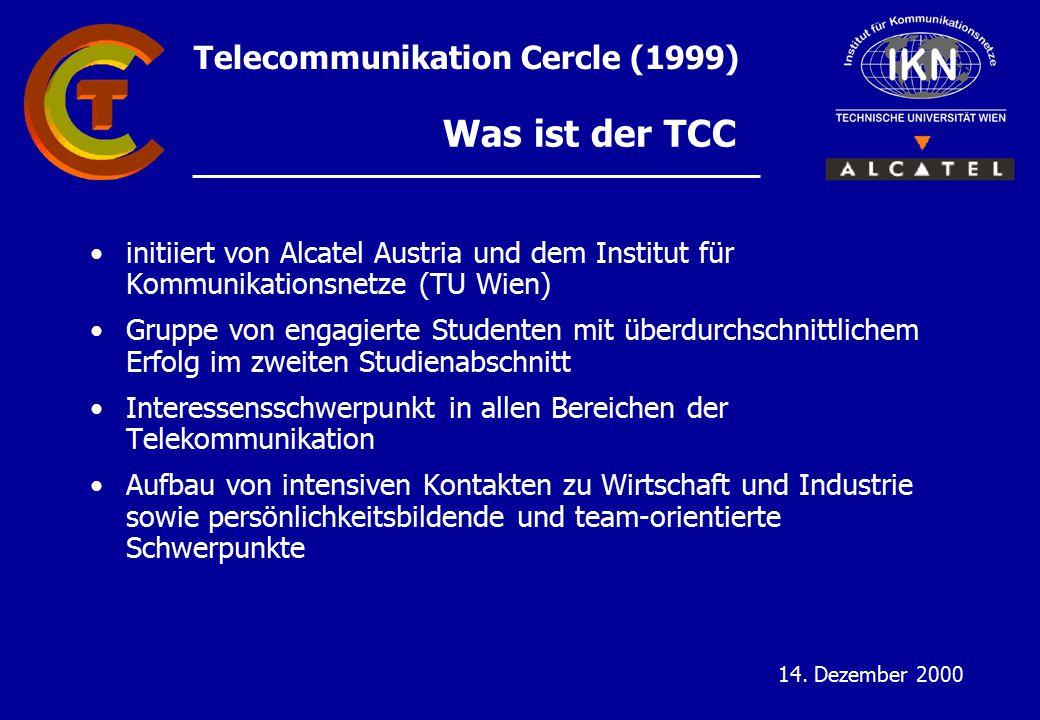 Telecommunikation Cercle (1999) 14.