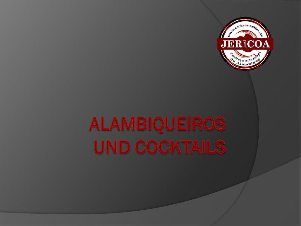 """Cocktails  Hagman  Dirk Becker (Rumclub, Berlin) 5 cl gereifter Cachaça 4 cl Blutorangensaft 4 cl Maracujasaft 2 cl Cointreau 1 cl Rohrzuckersirup 1/2 Limette  Ein fruchtiger Cocktail, der um Zitrusaromen """"gebaut wird und den Cachaça harmonisch weiterführt."""