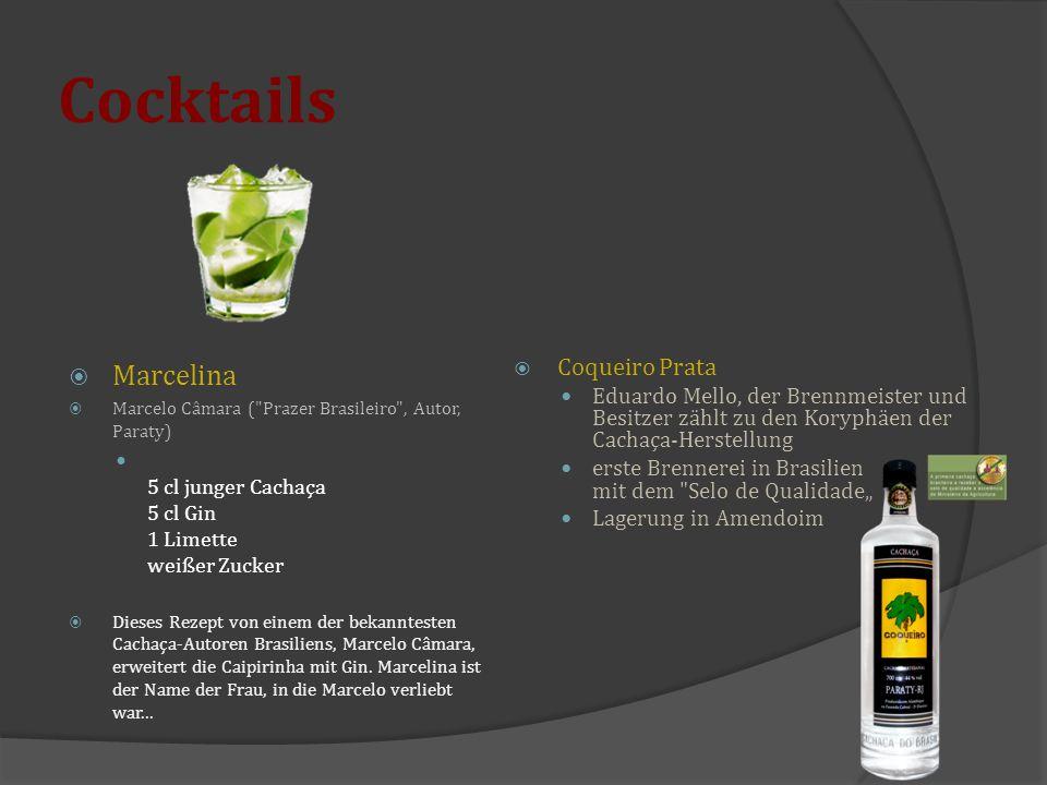 Cocktails  Marcelina  Marcelo Câmara (