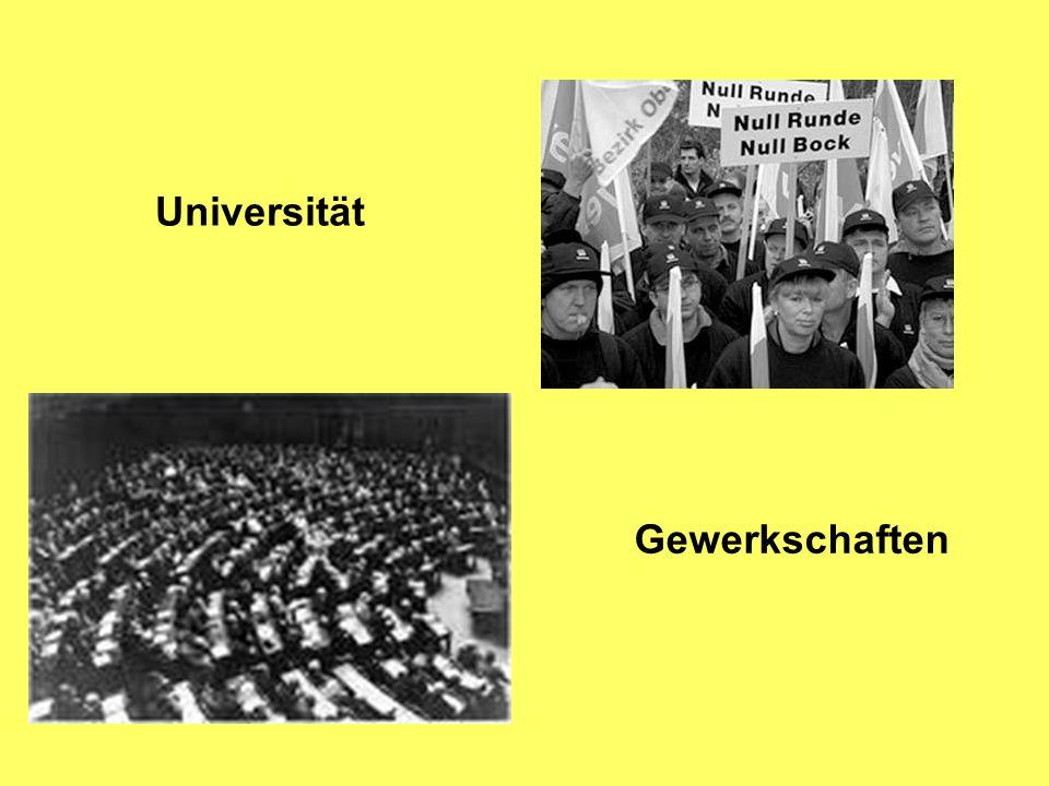 Universität Gewerkschaften