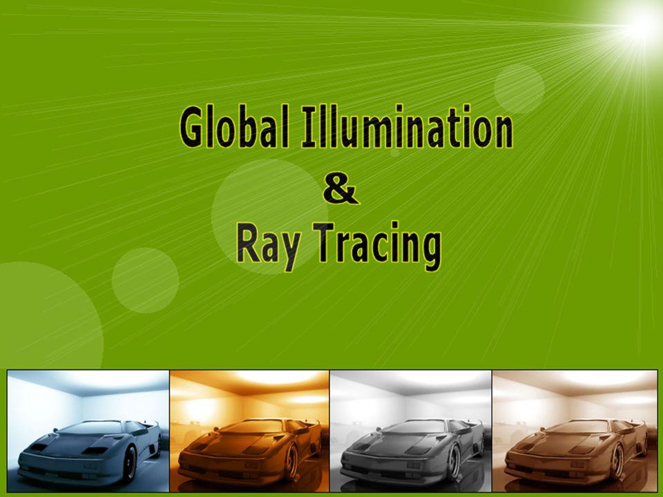 Seminar Computergrafik WS 2003/04, von A.Diehl2 Inhalt Kapitel 1: Global Illumination  Rendergleichung / Path Notation  Monte Carlo Ansatz  verschiedene Methoden (Ray Tracing, Radiosity, Path Tracing, …) Kapitel 2: Ray Tracing  Turner Whitteds Einstieg  Funktionsweise  Optimierungsmethoden