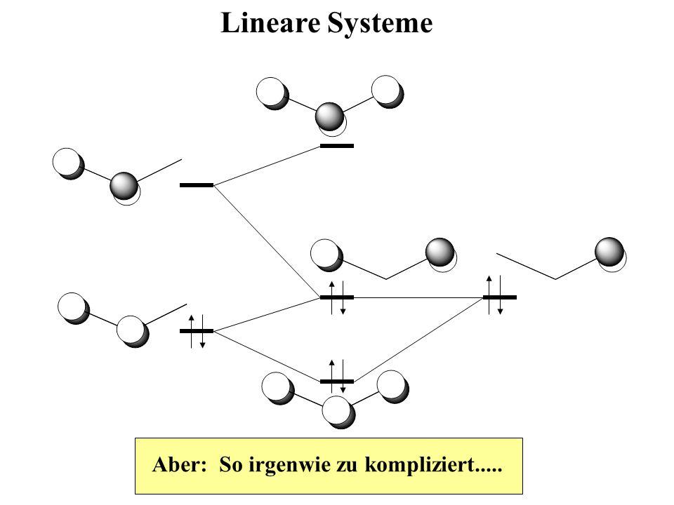Lineare Systeme Aber: So irgenwie zu kompliziert.....