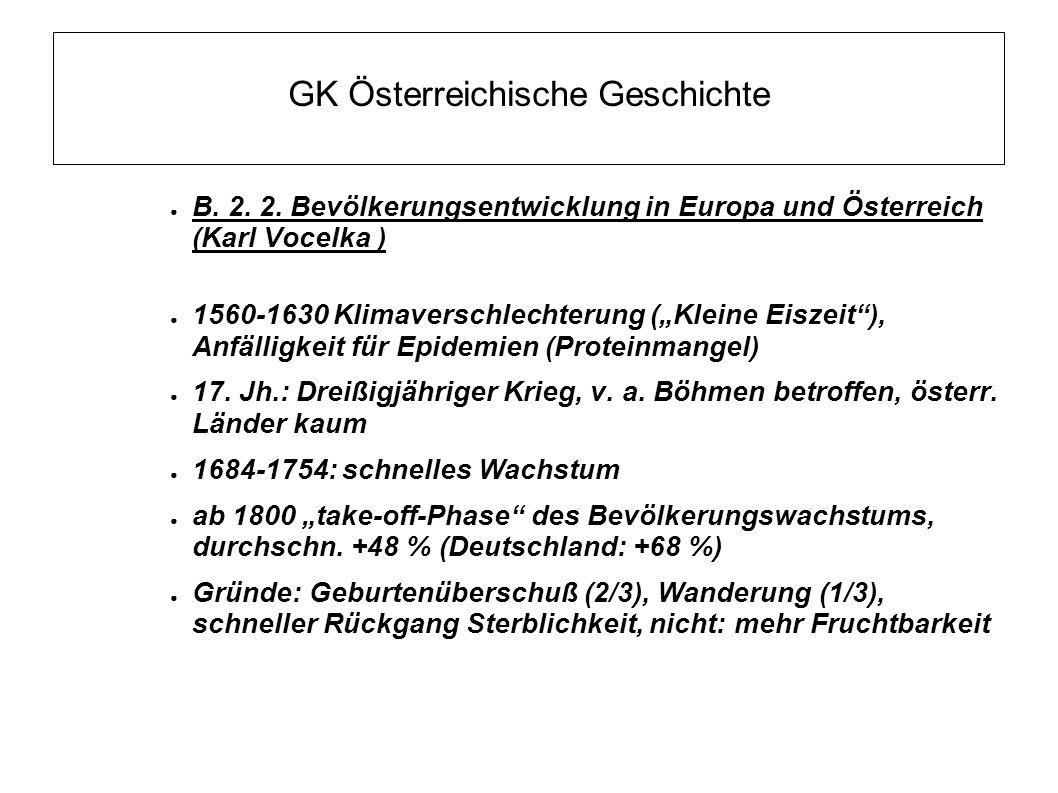 GK Österreichische Geschichte ● B.2. 2.