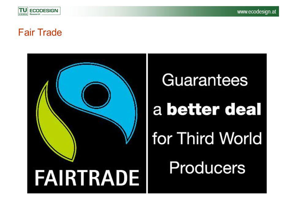 www.ecodesign.at Fair Trade