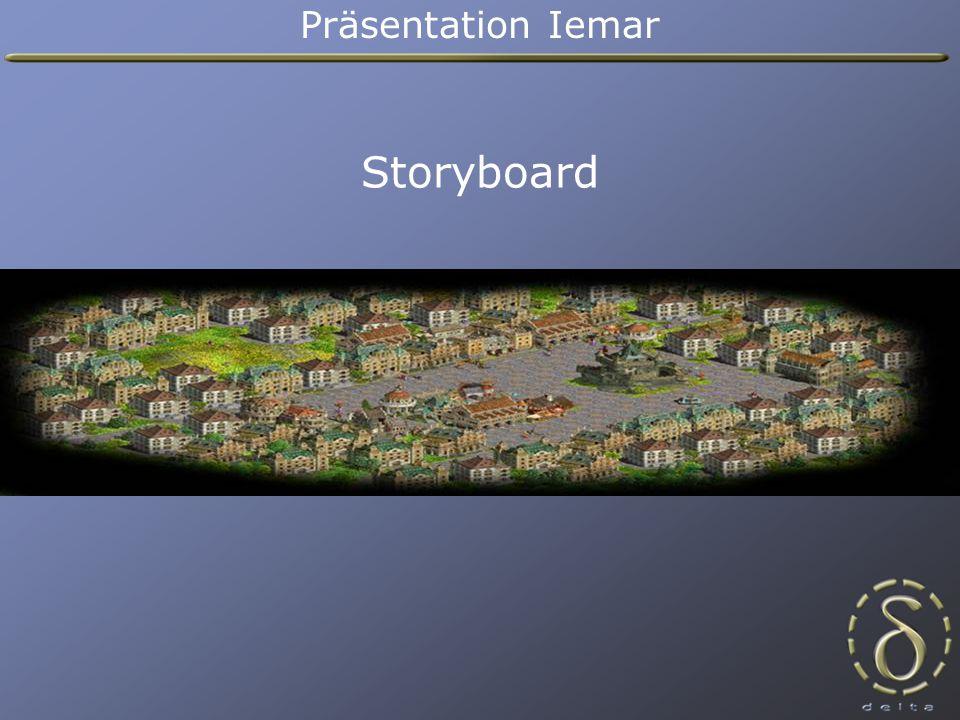 Storyboard Präsentation Iemar