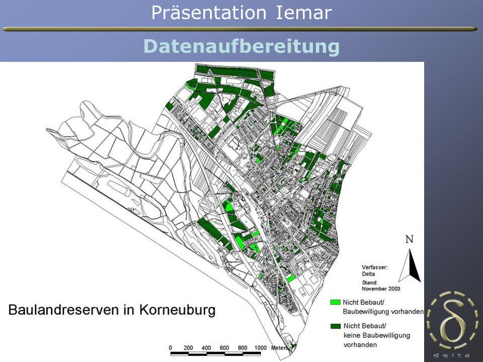 Datenaufbereitung Präsentation Iemar