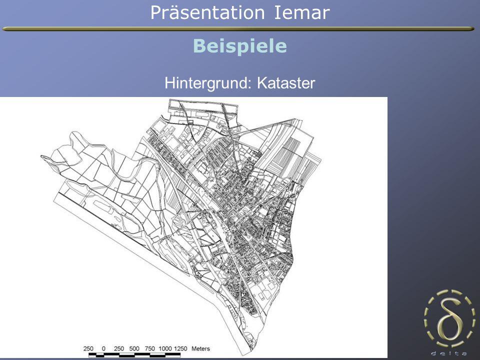 Präsentation Iemar Beispiele Layer: Straßentypen