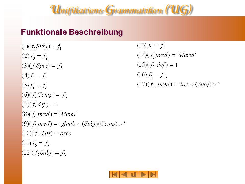 Funktionale Struktur