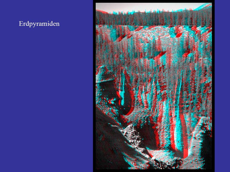 Fotografische Filme: Schwarz-Weiss, pan (SW): beste Auflösung; Anwendung bei hohen Genauigkeitsansprüchen an geometrische Information.