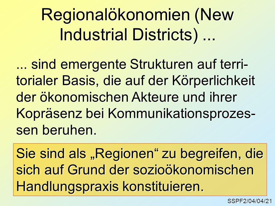 SSPF2/04/04/21 Regionalökonomien (New Industrial Districts)......