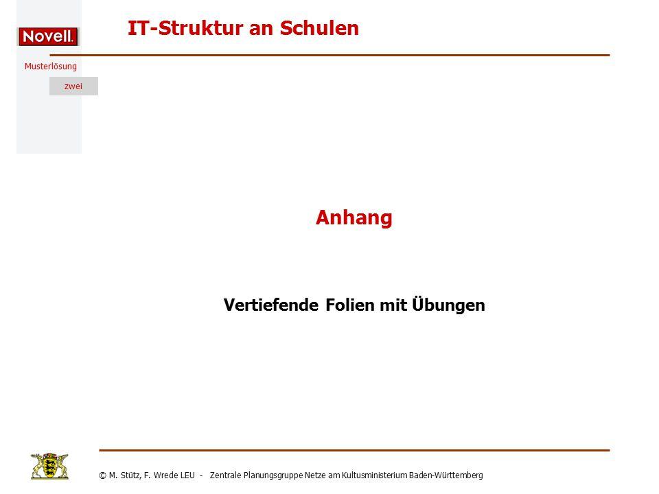 © M. Stütz, F. Wrede LEU - Zentrale Planungsgruppe Netze am Kultusministerium Baden-Württemberg Musterlösung zwei Stand: 27.01.2003 30 Der Server Date