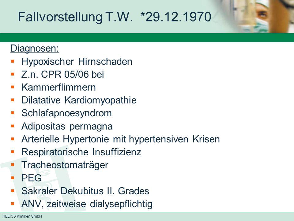 HELIOS Kliniken GmbH Fallvorstellung E.J.
