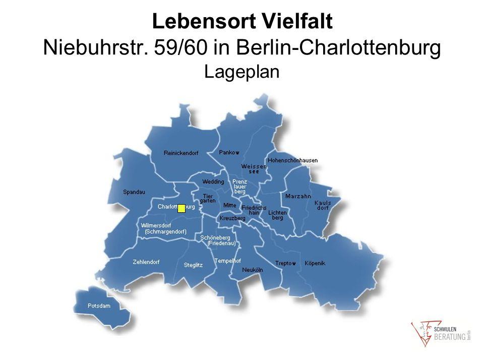 Lebensort Vielfalt Niebuhrstr. 59/60 in Berlin-Charlottenburg Lageplan
