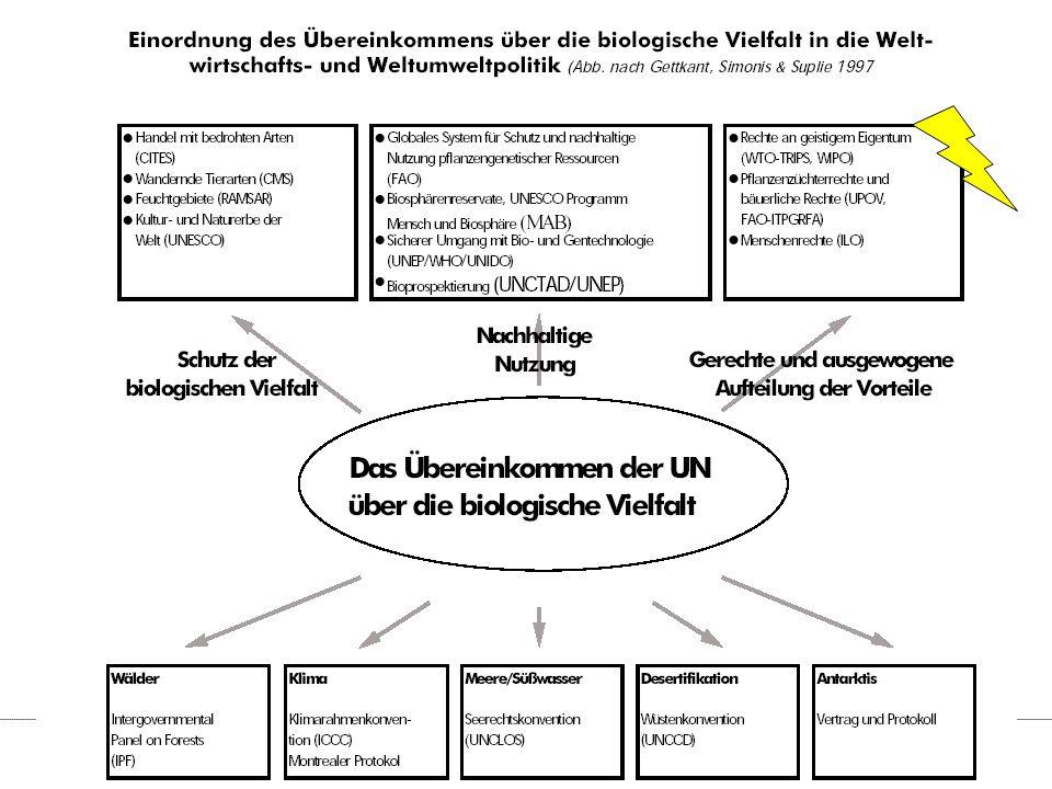 """Gregor Kaiser Wuppertal Heinrich-Böll Universität Institut Stiftung Kassel 16 Zitate """"Die ungleiche Verteilung der Biodiversität und die technologischen und finanziellen Unterschiede lassen die Interessen von Entwicklungs- und Industrieländer gegeneinander stehen."""