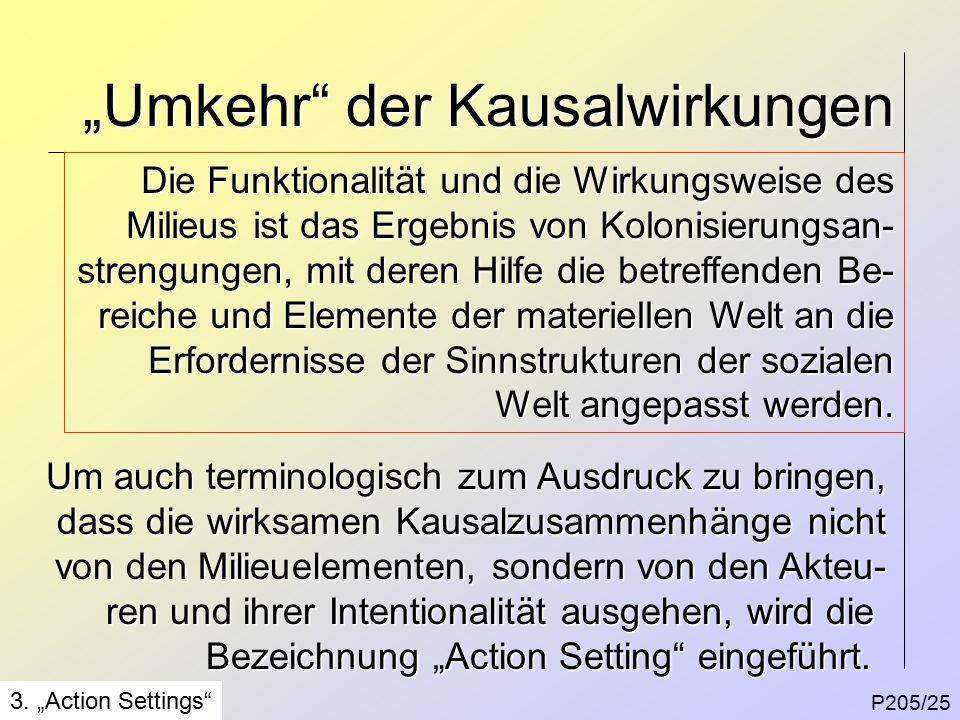 """""""Umkehr der Kausalwirkungen P205/25 3."""