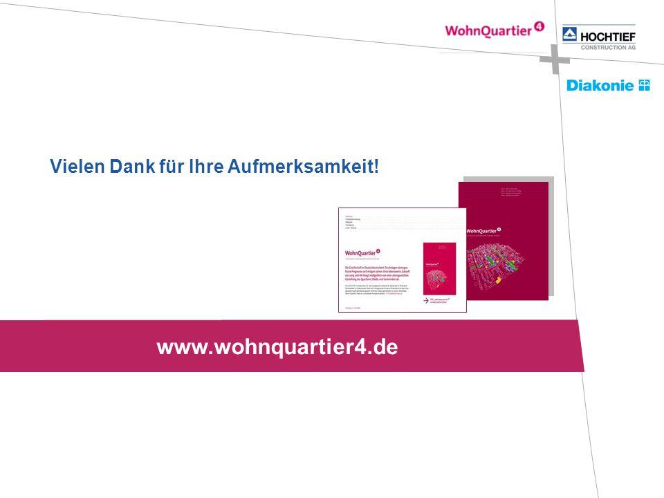 Vielen Dank für Ihre Aufmerksamkeit! www.wohnquartier4.de