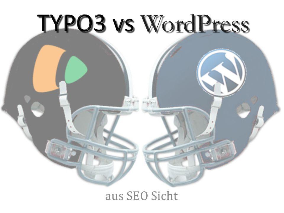 TYPO3:  Nein WordPress: Im Core