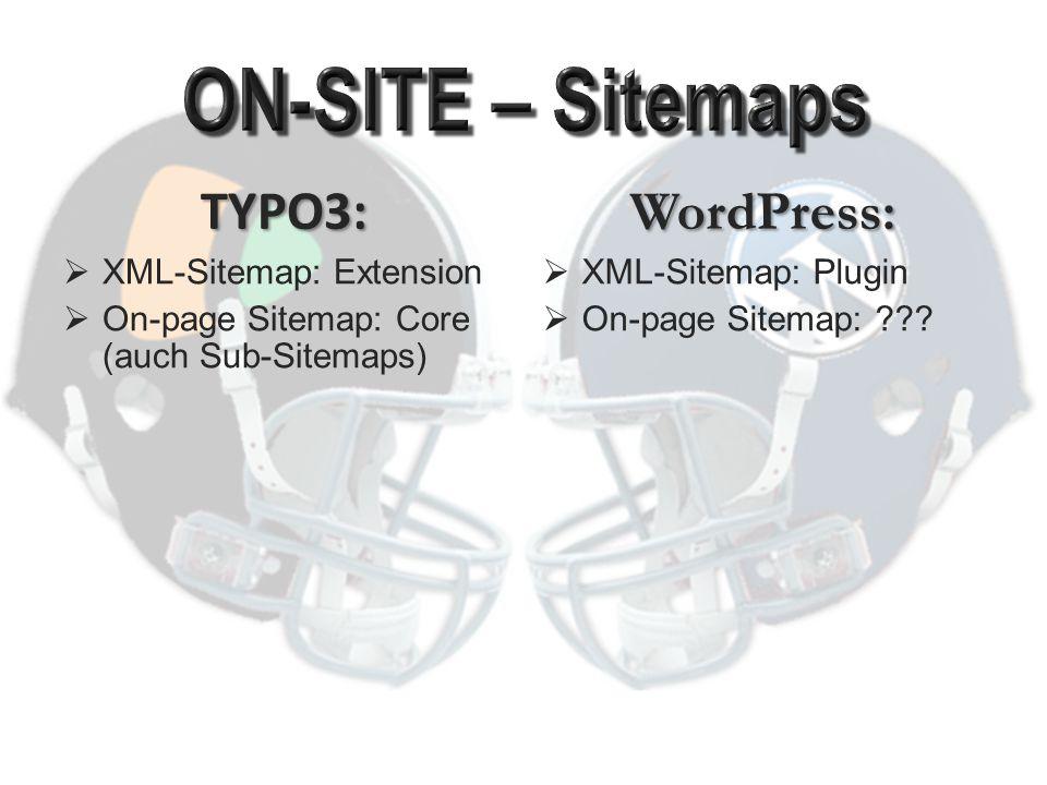 """TYPO3 : robots.txt – nicht unterstützt nur manuell WordPress: robots.txt vom Core dynamisch erstellt (von Plugins """"ansprechbar )"""