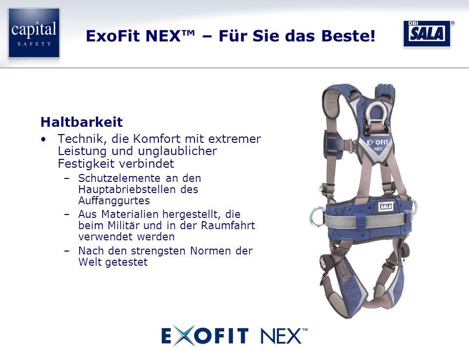 ExoFit NEX™ – Für Sie das Beste.