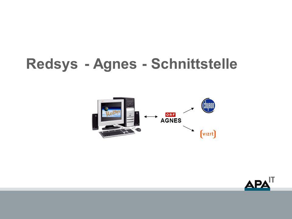 Redsys- Agnes - Schnittstelle AGNES