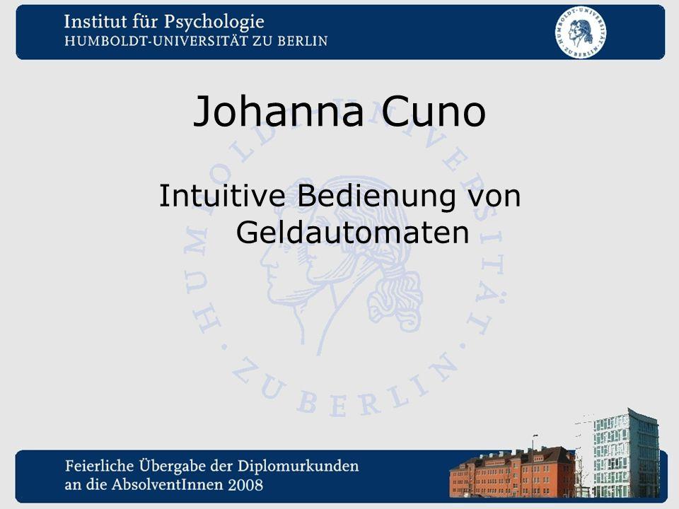 Johanna Cuno Intuitive Bedienung von Geldautomaten