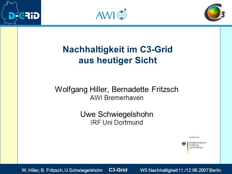 W.Hiller, B. Fritzsch, U.
