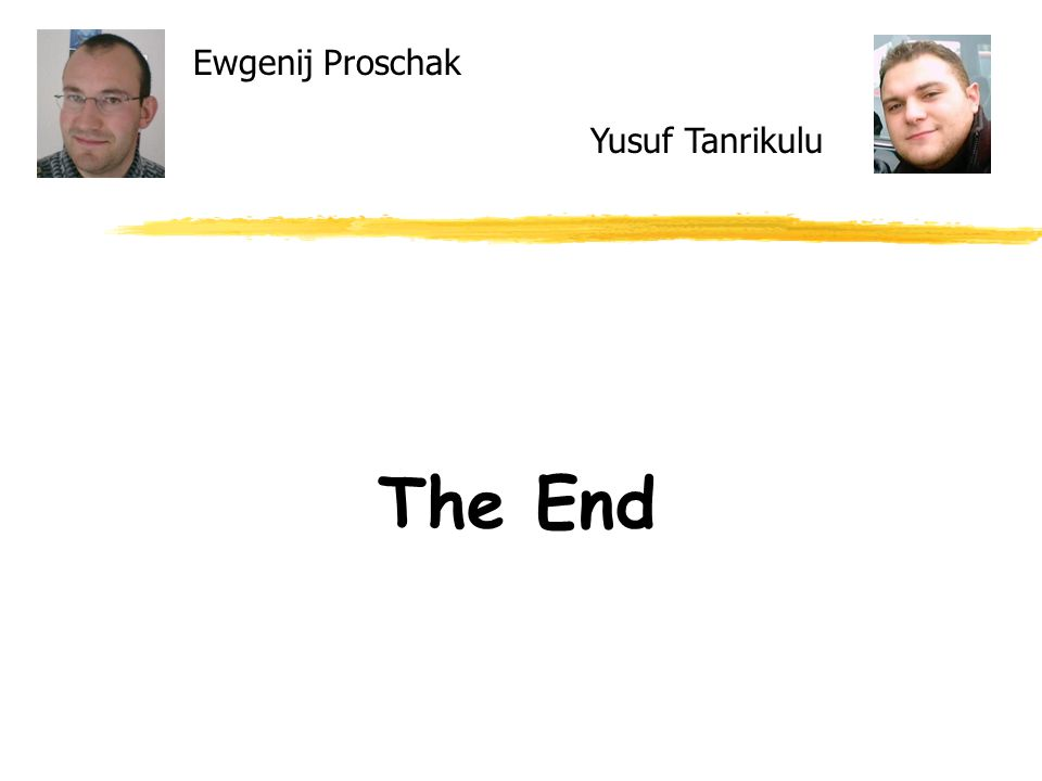 Ewgenij Proschak The End Yusuf Tanrikulu