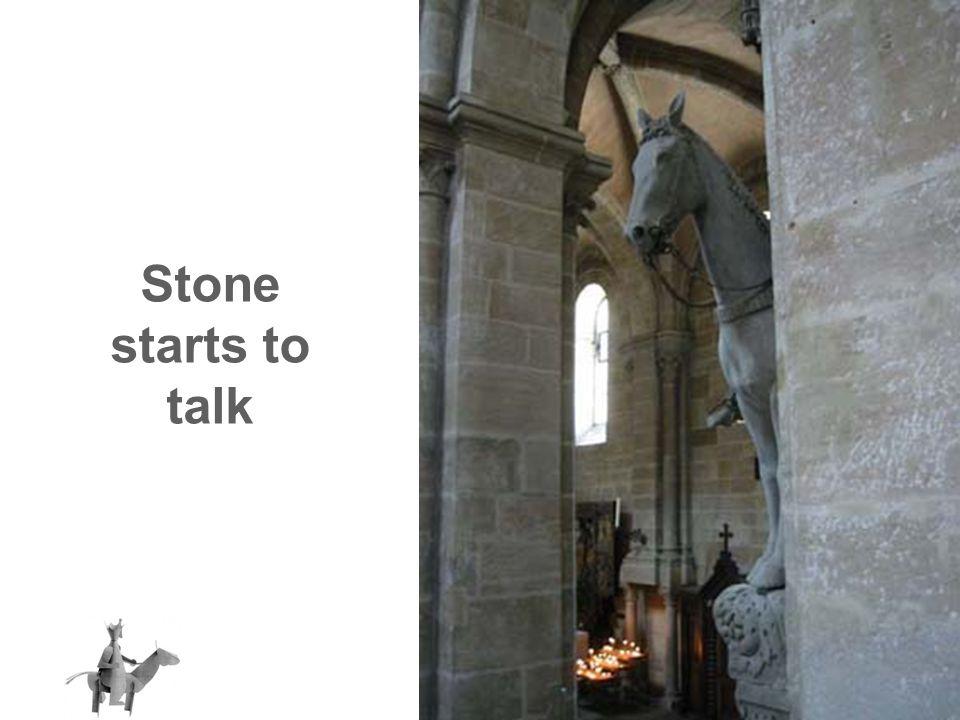 Stone starts to talk