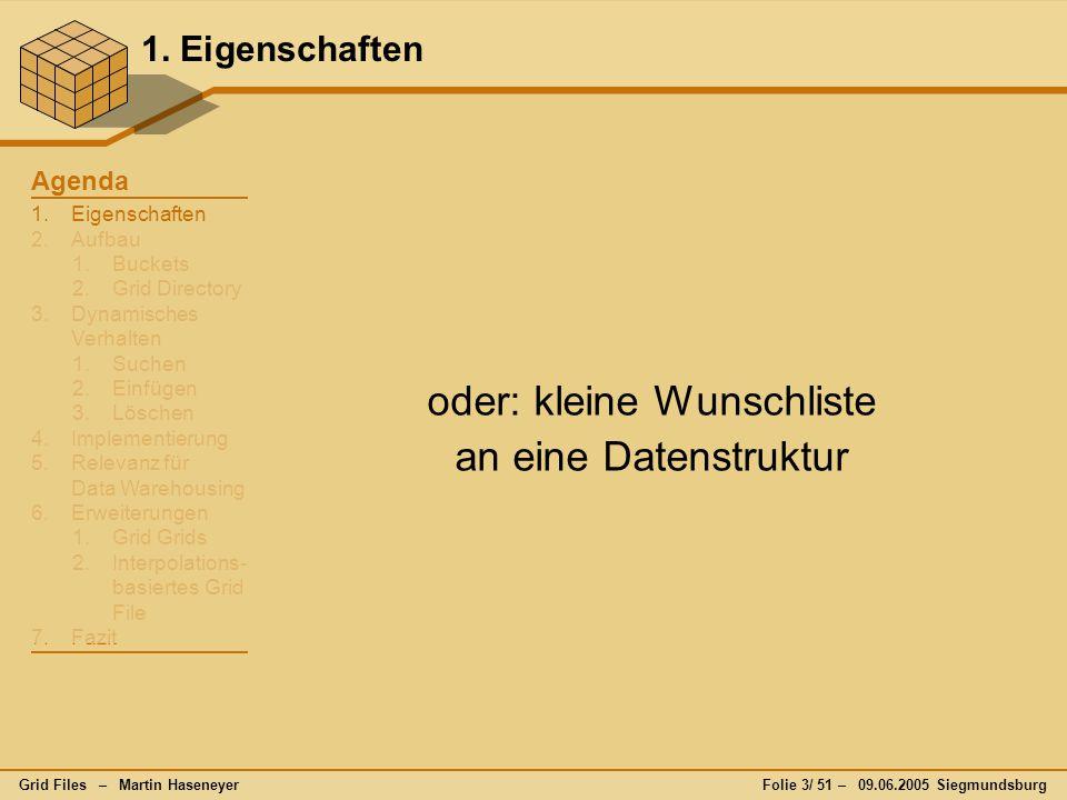 Grid Files – Martin HaseneyerFolie 24/ 51 – 09.06.2005 Siegmundsburg 3.2.