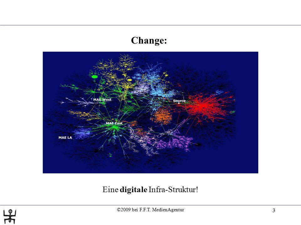 ©2009 bei F.F.T. MedienAgentur 4 Change: Eine digitale Basis-Technologie!