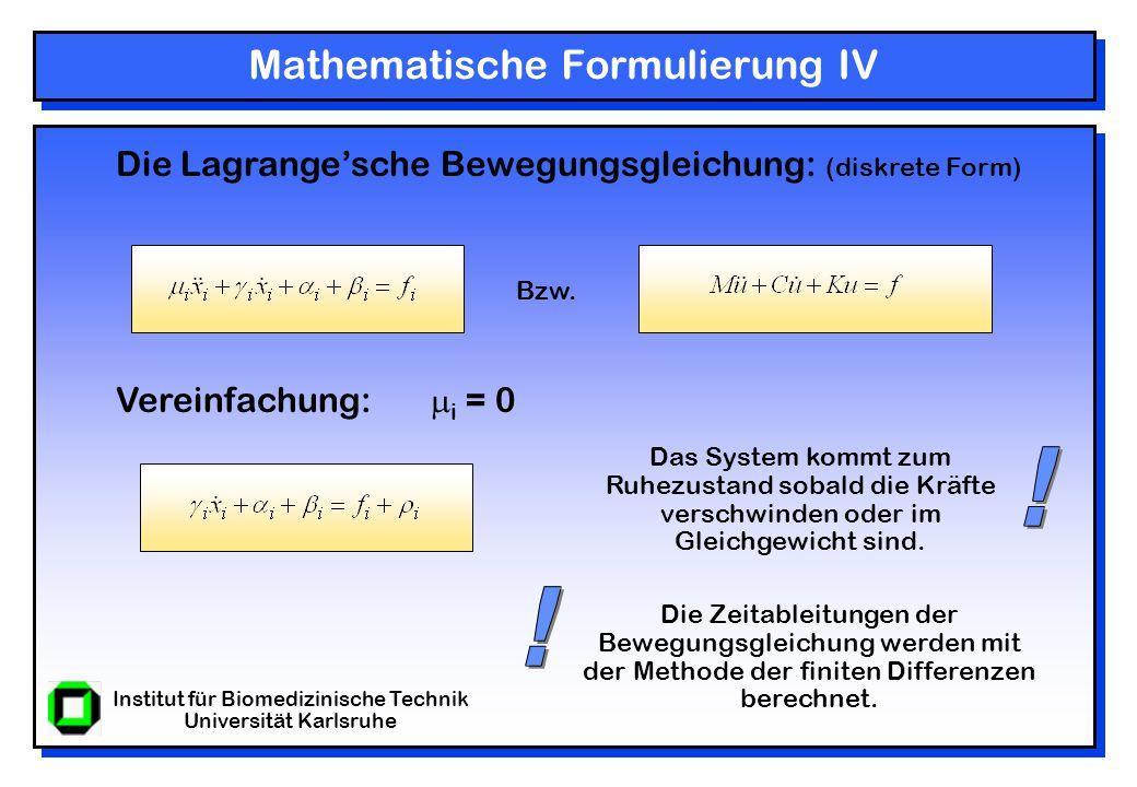 Institut für Biomedizinische Technik Universität Karlsruhe Ergebnisse III Segmentierung eines Wirbelkörpers (T-Snakes)